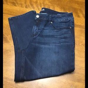 Seven7 Skinny Crop Jean Size 14 #2244